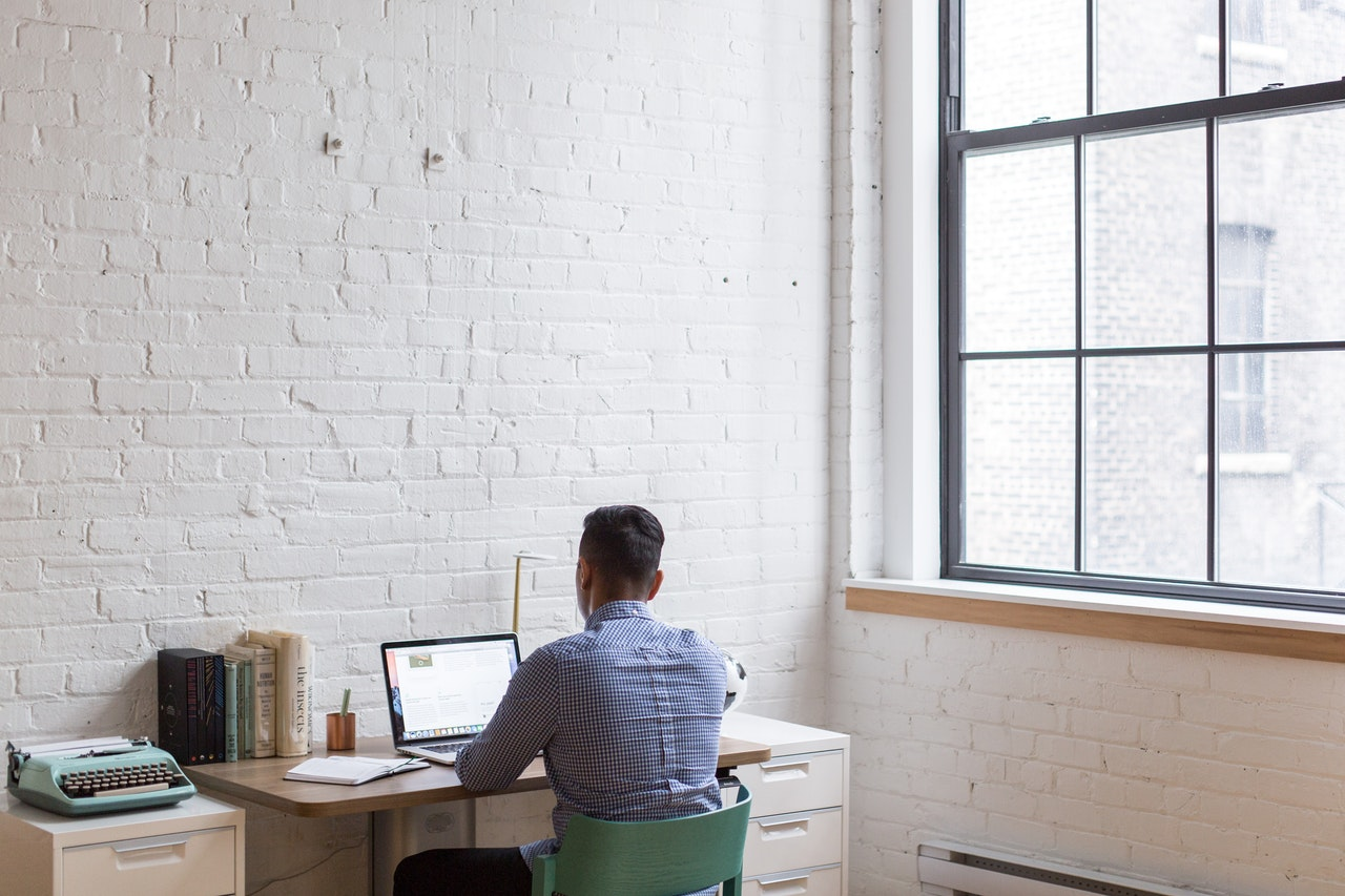 a man writing a complaint letter